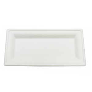 Sugarcane Plate Rectangular
