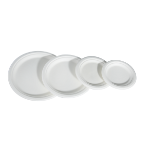Sugarcane Plates Round