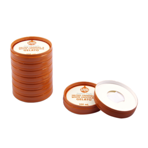 BIO Kraft Stackable Ice Cream Lids