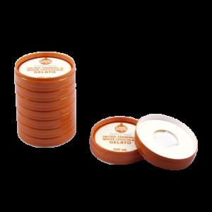 BIO Kraft Stackable Ice Cream Lids