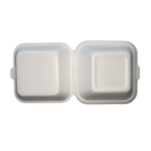 PLA Foam Clamshell 15×15 h8cm