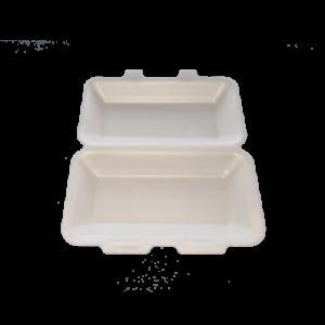 PLA Foam Clamshell 25×15 h6cm
