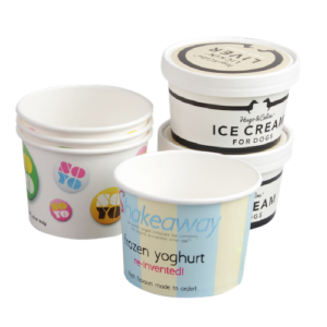 BIO Ice Cream Cups and Lids