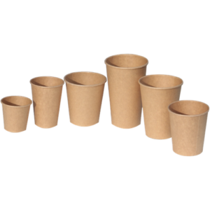 BIO Kraft Coffee Cups