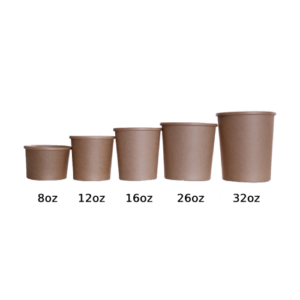 BIO Kraft Soup Cup 8oz 240ml
