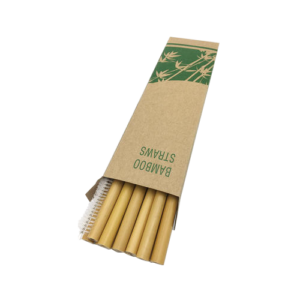 Bamboo Straws in Box (6 straws+1 brush)