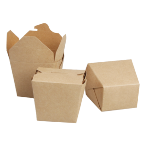 BIO Kraft Takeaway Boxes