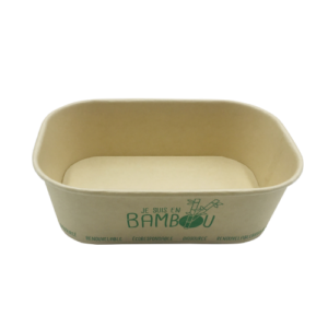 BIO Kraft Rectangular Container 650ml
