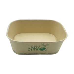 BIO Kraft Rectangular Container 750ml