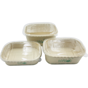 BIO Kraft Rectangular Containers